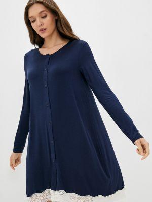 Синее зимнее платье United Colors Of Benetton