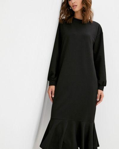 Черное зимнее платье Hey Look