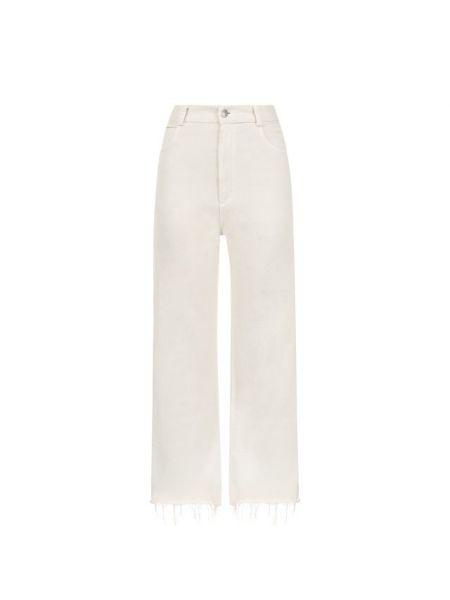 Укороченные джинсы расклешенные синие Rachel Comey