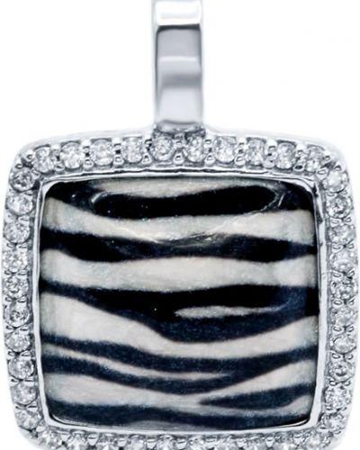 Серебряная подвеска с камнями Silver Wings