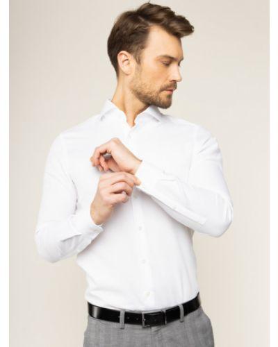 Biała biała koszula Strellson