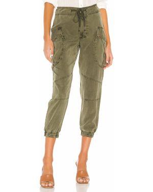 Zielone spodnie Yfb Clothing