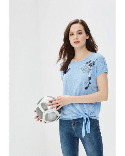 Голубая футболка Zarina