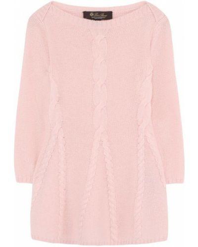 Розовое платье Loro Piana