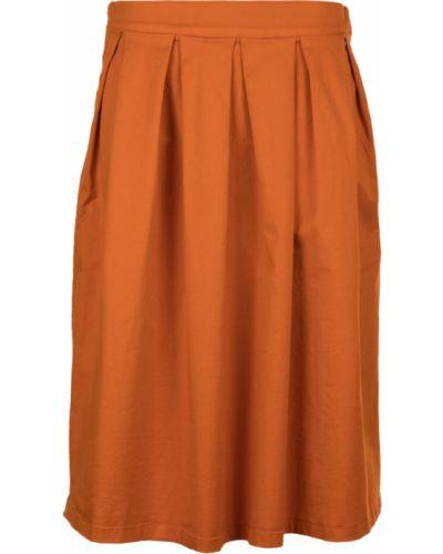 Pomarańczowa spódnica Souvenir