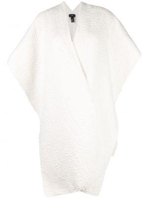 Кардиган с короткими рукавами белый расклешенный Voz