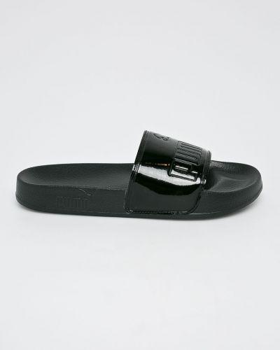 Черные сандалии текстильные Puma