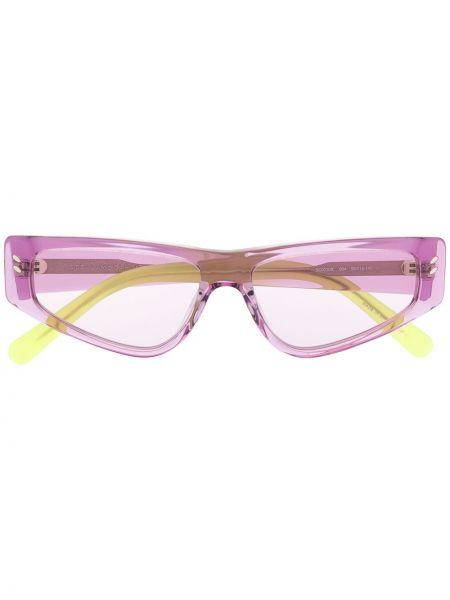 Муслиновые фиолетовые солнцезащитные очки Stella Mccartney Eyewear