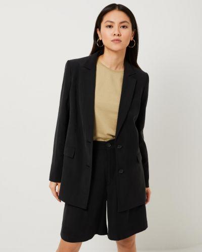 Пиджак оверсайз - черный Sela