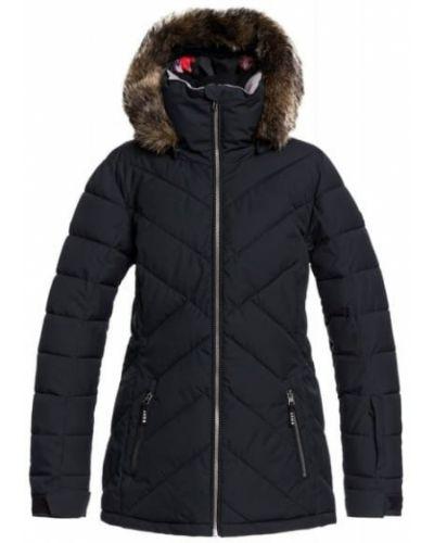 Черная куртка сноубордическая Roxy
