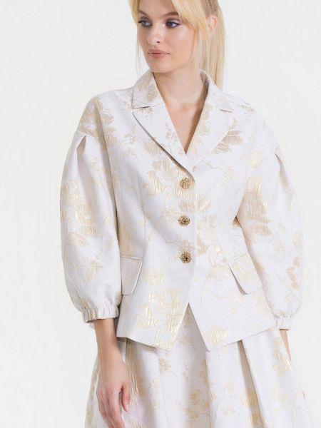 Пиджак - белый Jn