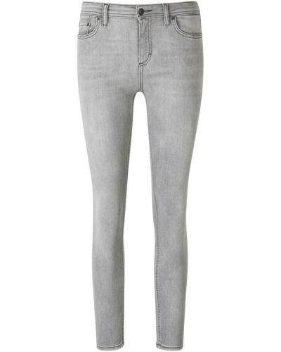 Szare jeansy rurki Acne Studios