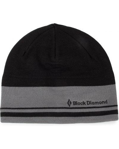 Czapka czarny szary Black Diamond