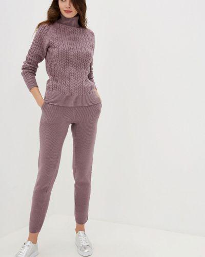Брючный костюм китайский фиолетовый Conso Wear