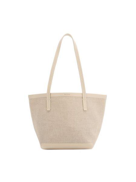 Кожаная сумка шоппер маленькая The Row