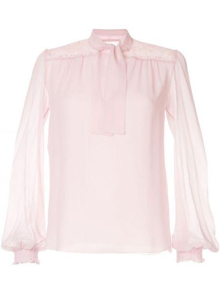 Блузка розовая на резинке Giambattista Valli