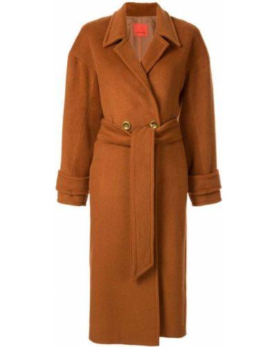 Пальто классическое с капюшоном на пуговицах Manning Cartell