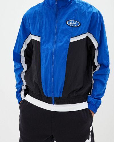 Куртка осенняя осенний синяя Nike