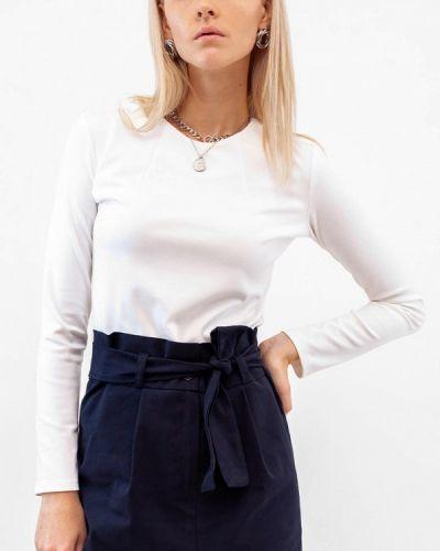 Белая блузка с длинными рукавами Dorogobogato