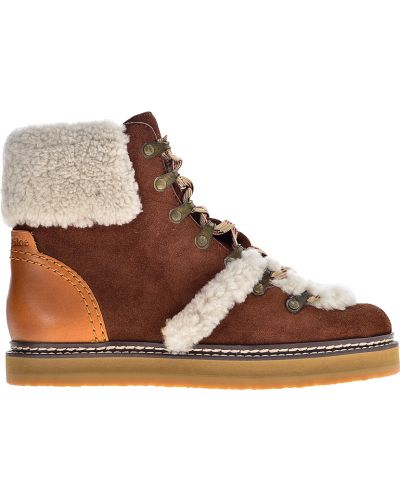 ed430e18dc4e Купить женские ботинки на платформе See By Chloe в интернет-магазине ...