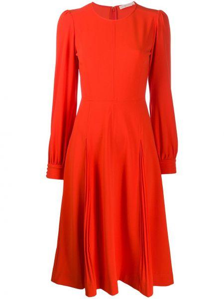 Платье миди на пуговицах на молнии Tory Burch