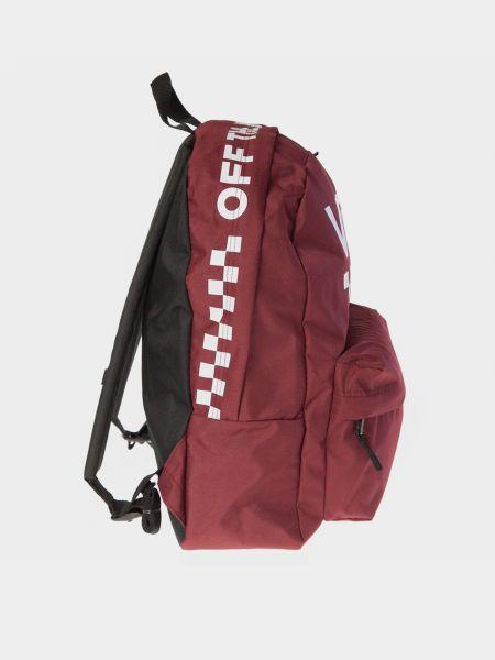 Рюкзак - красный Vans