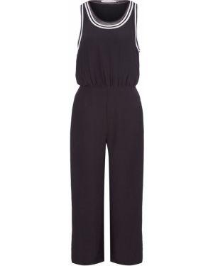 Брючный комбинезон черный Calvin Klein Jeans