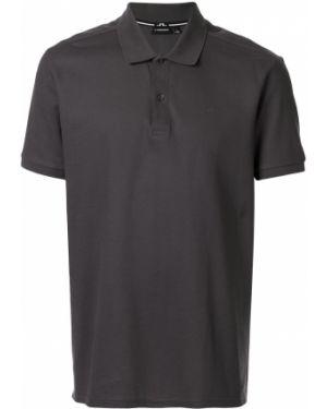 Рубашка с коротким рукавом - серая J.lindeberg