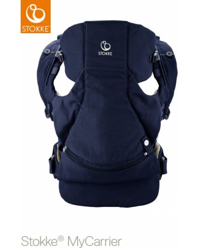 Рюкзак темно-синий синий Stokke