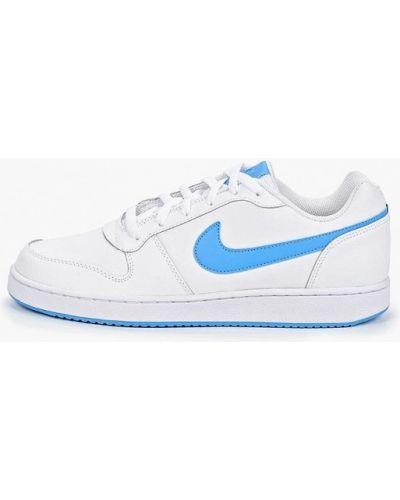 Низкие кеды белые Nike
