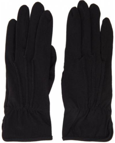 Czarne rękawiczki bawełniane Yohji Yamamoto