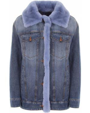 Джинсовая куртка из кролика на пуговицах Jacob Cohen