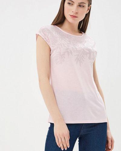 Розовая футболка Zarina