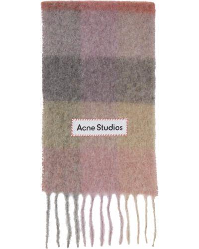 Белый шарф из мохера Acne Studios