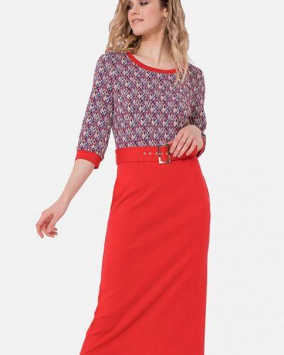Платье - красное Jn