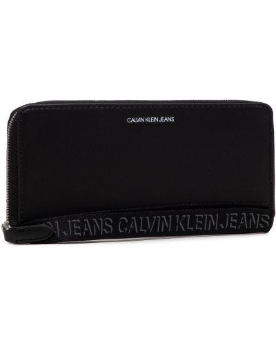 Czarny portfel Calvin Klein Jeans