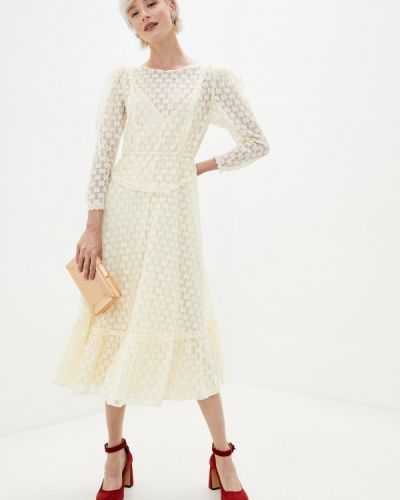Бежевое свадебное платье Sister Jane