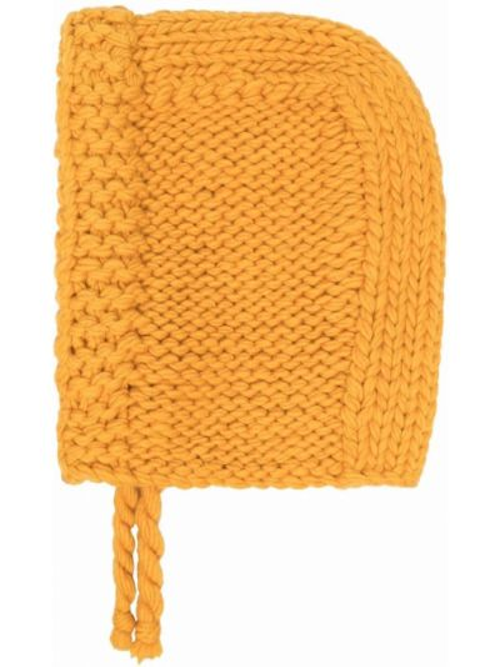 Żółty krawat wełniany Jw Anderson