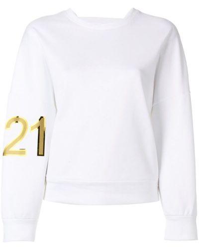 Толстовка с логотипом длинная N21