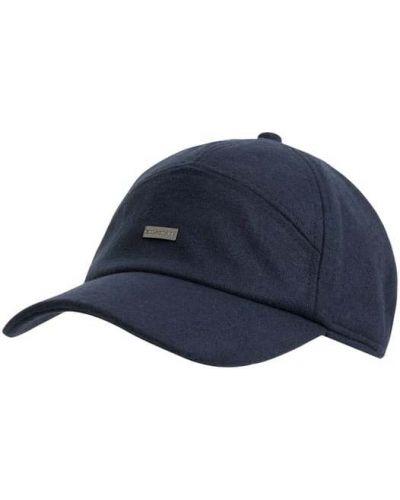 Niebieski czapka z nausznikami wełniany Paul & Shark