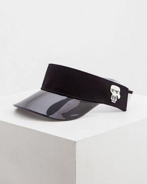 Козырек черный Karl Lagerfeld