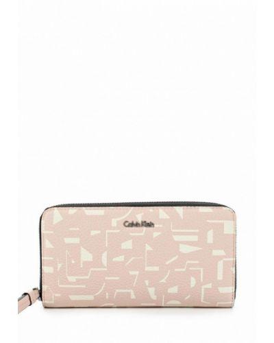 Розовый кошелек Calvin Klein Jeans