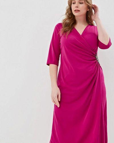Вечернее платье весеннее розовое Svesta