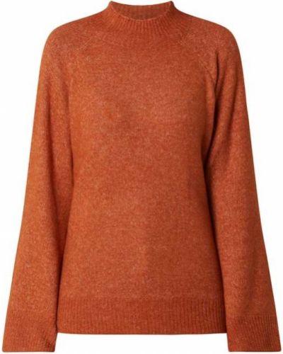 Sweter wełniany - brązowy Saint Tropez