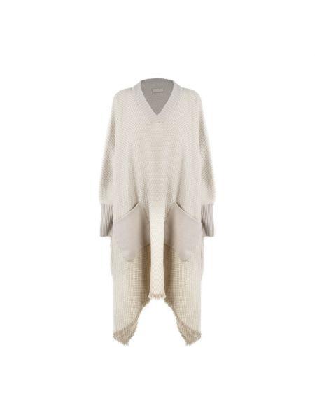 Biała kurtka Agnona