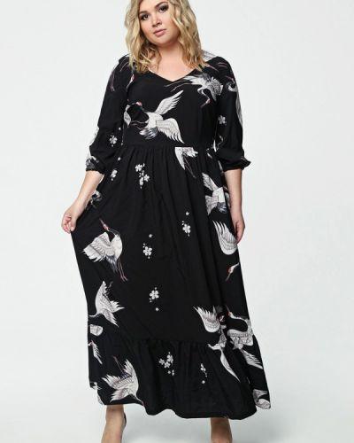 Платье макси - черное Matilda