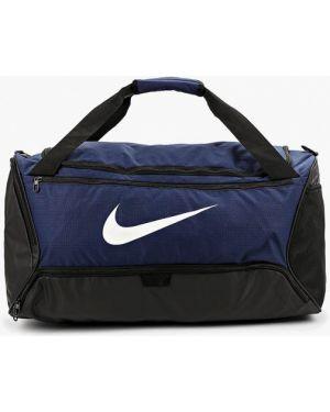 Спортивная сумка текстильная синий Nike