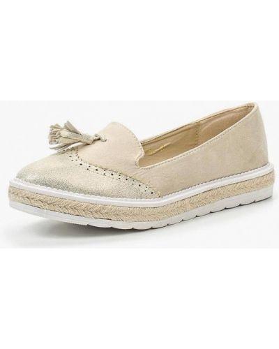 Лоферы бежевые замшевые Ws Shoes