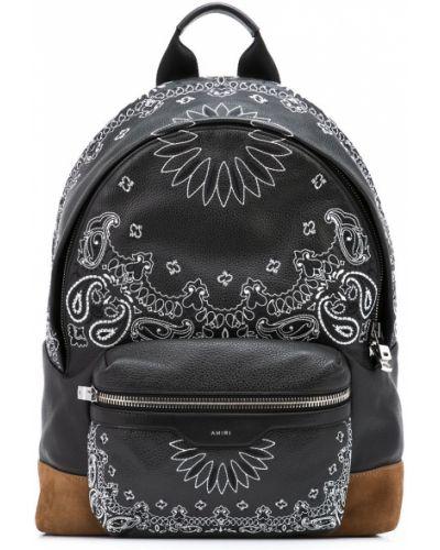 Черная сумка с карманами Amiri