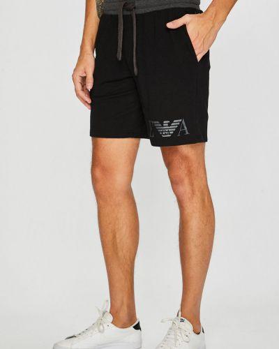 Спортивные шорты на резинке с карманами Emporio Armani